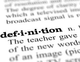 the word definition