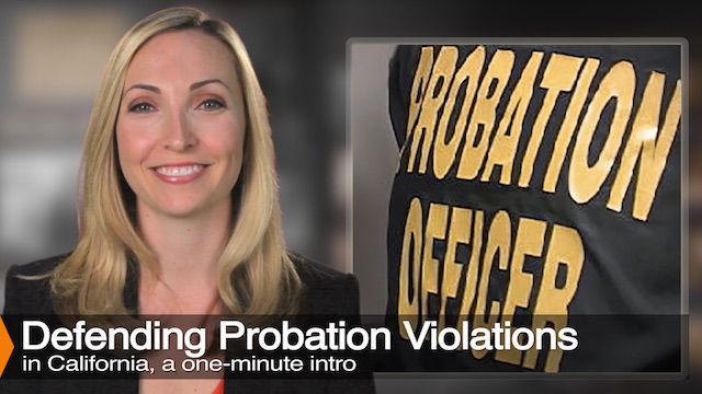 Diana Aizman Discusess Probation Violations