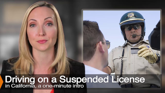 driving on a suspended license in california | vc 14601 | aizman law