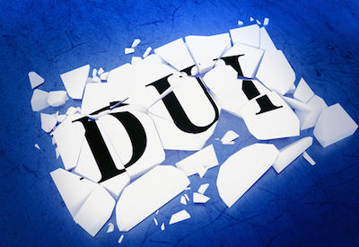 word dui broken in pieces