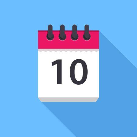 Calendar 10 days