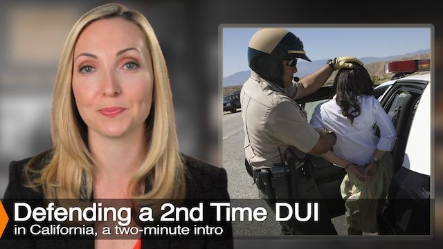 Attorney Diana Aizman Discusses Second Time DUI