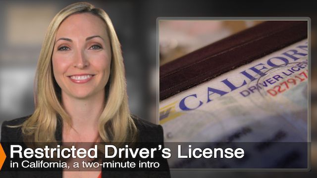 How To Receive a restricted license after a DUI