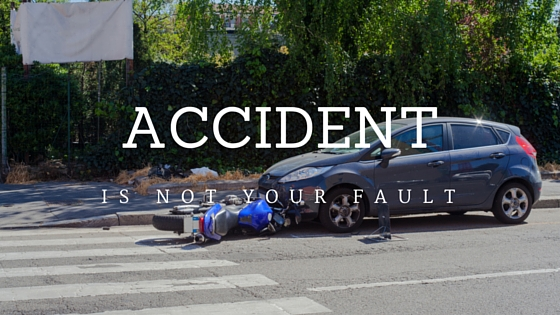 accident is not your fault