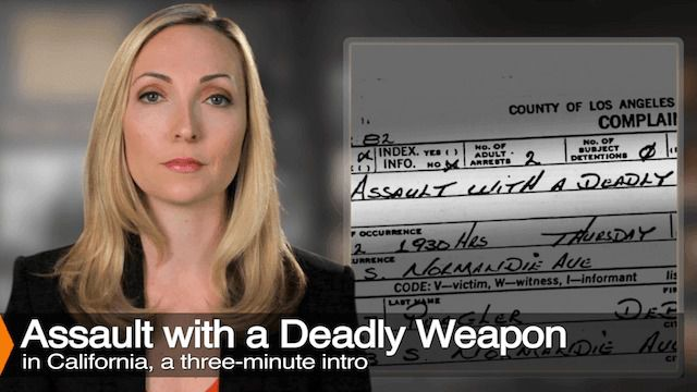 Diana Aizman Discusses Assault With A Deadly Weapon