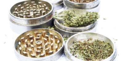 Marijuana In Cannisters