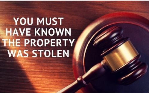 9 Things You Should Know About Receiving Stolen Property