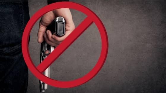 no gun possession