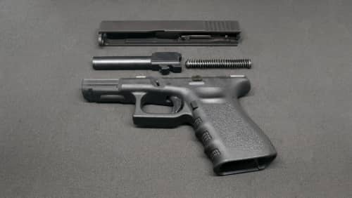 gun taken apart