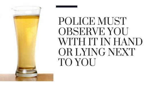 Beer With Legal defenses explained