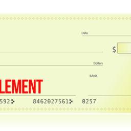 settlement check