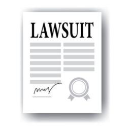 lawsuit paper