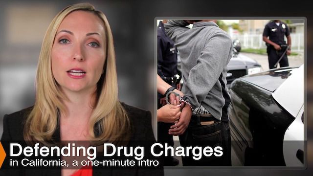 Attorney Diana Aizman Discusses Drug Possession