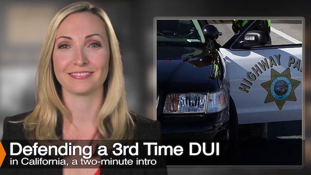 Attorney Diana Aizman Discusses Third Time DUI
