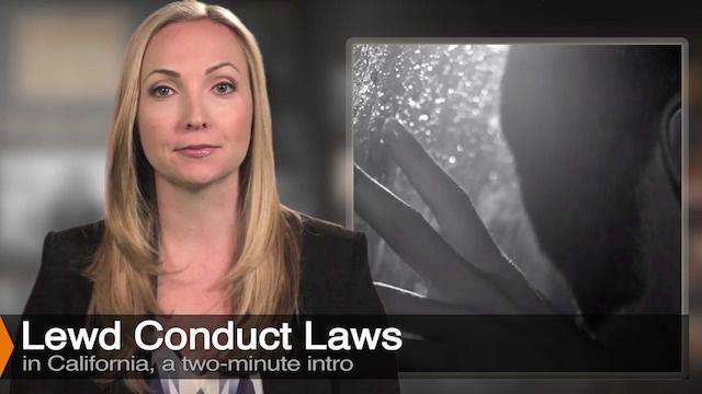 Diana Aizman Discuss Lewd Conduct