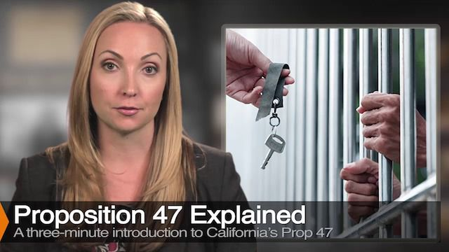 Diana Aizman Explains Proposition 47