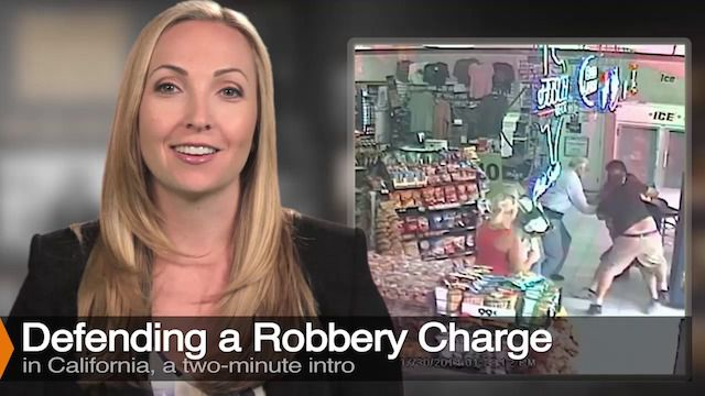 Attorney Diana Aizman Discusses Robbery Charges