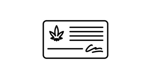 medical marijuana card graphic