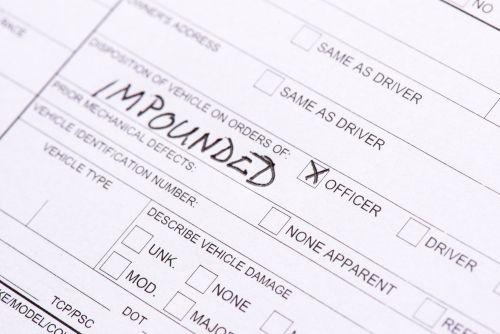 impound paperwork