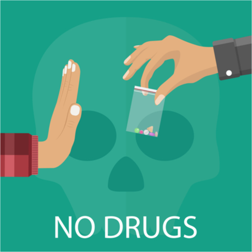 saying no to drugs